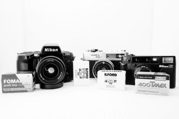 Meine analoge Fotoausrüstung für 2016 © Stephan Cremer