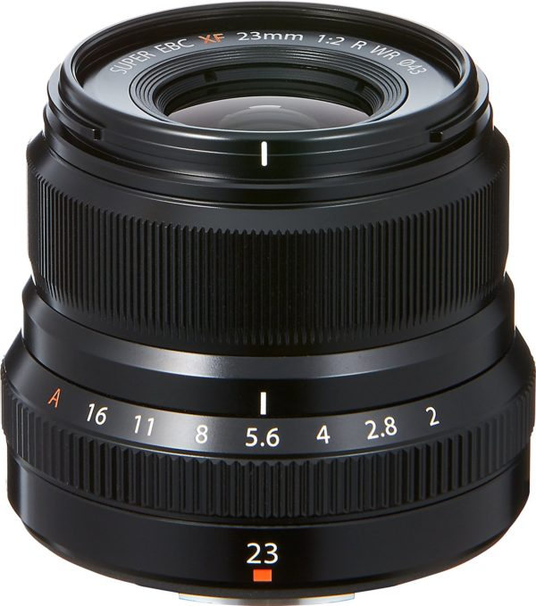 Fujifilm Fujinon XF 23mm F2 R WR Schwarz