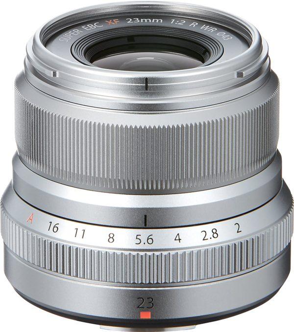 Fujifilm Fujinon XF 23mm F2 R WR Silber