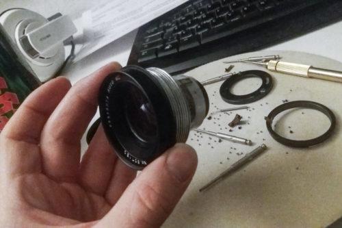 DIY Lensbaby aka Tilt Shift aka Frankenfuji