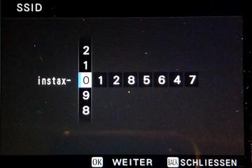 Fuji Instax SP-3 Einstellungen an der X-Pro 2