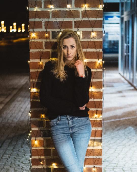 Portraits in Wismar mit Paula